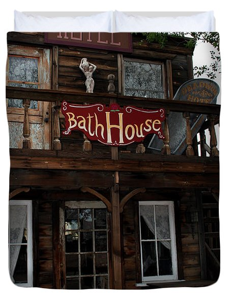 Bath House Duvet Cover