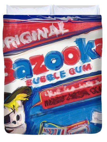 Bazooka Duvet Cover