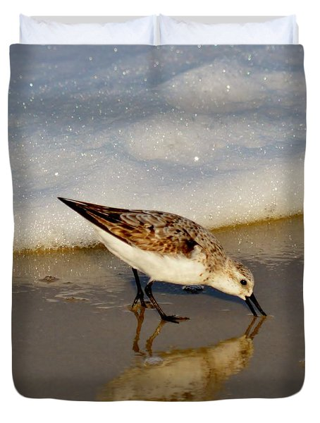 Beach Bird Duvet Cover