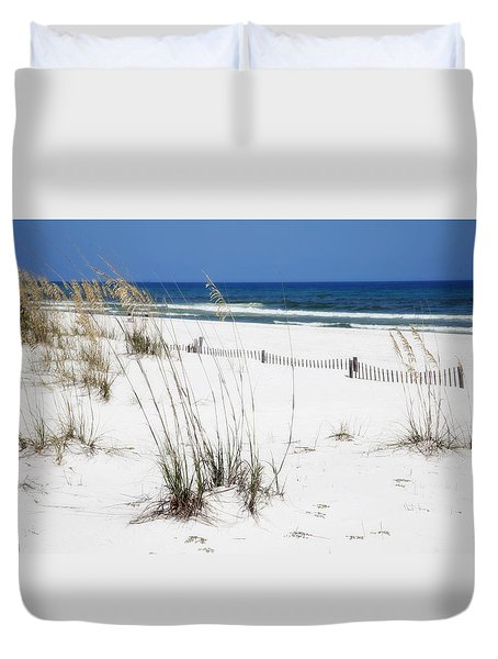 Beach No. 5 Duvet Cover by Toni Hopper