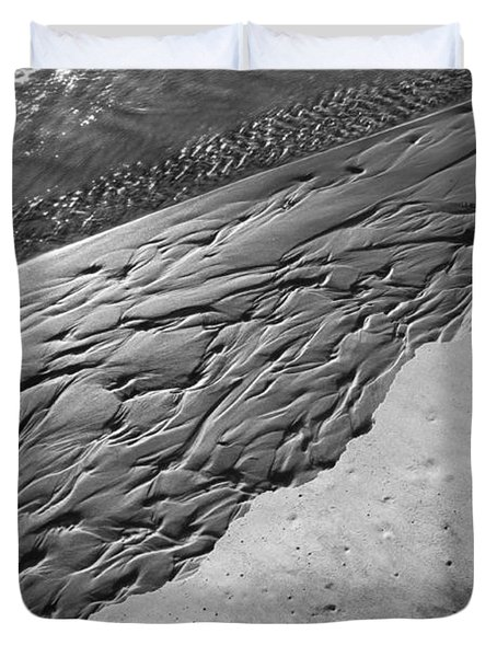 Beach Patterns Duvet Cover by Lauri Novak