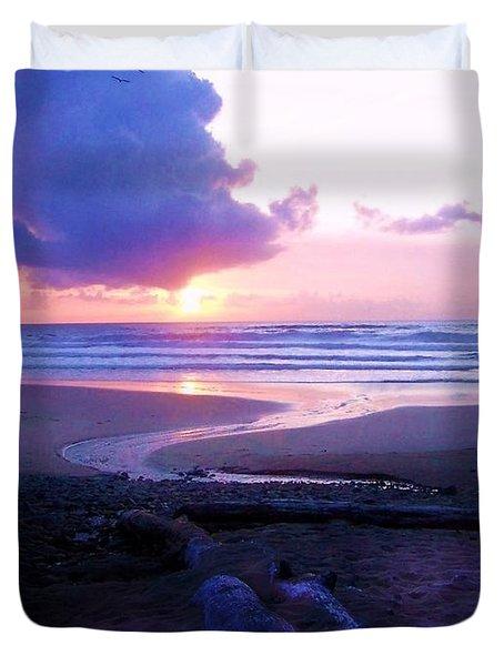 Beach Time Duvet Cover