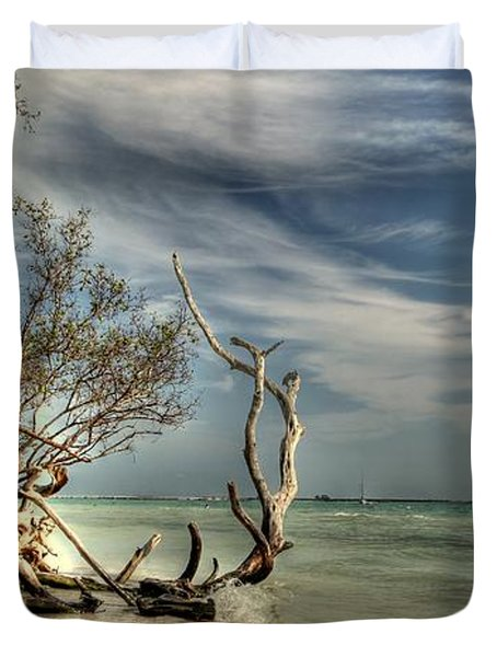 Beach Tree Duvet Cover