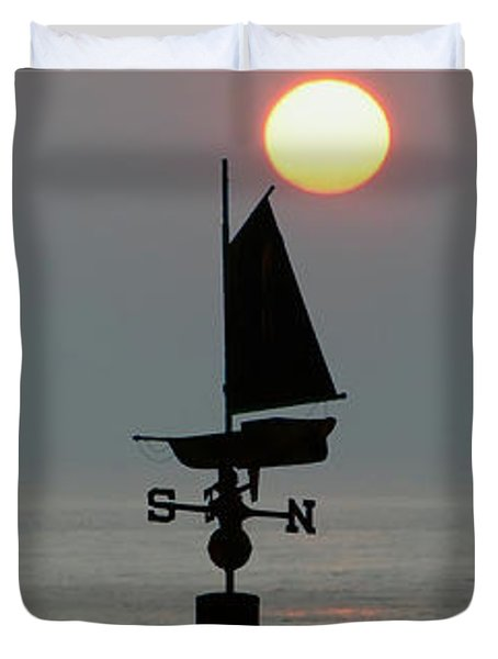 Beach Weather Duvet Cover by Bill Cannon