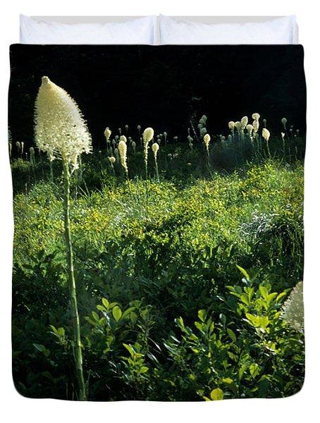 Bear-grass II Duvet Cover by Sharon Elliott