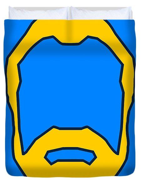Beard Graphic  Duvet Cover