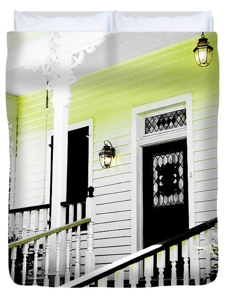 Beauregard Town Baton Rouge Duvet Cover