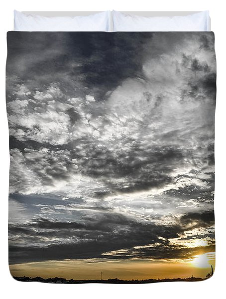 Beautiful Days End Duvet Cover by Shannon Harrington
