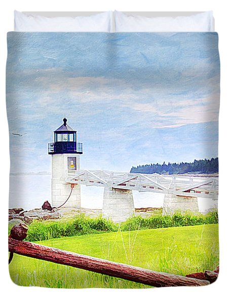Beautiful Maine Duvet Cover by Darren Fisher
