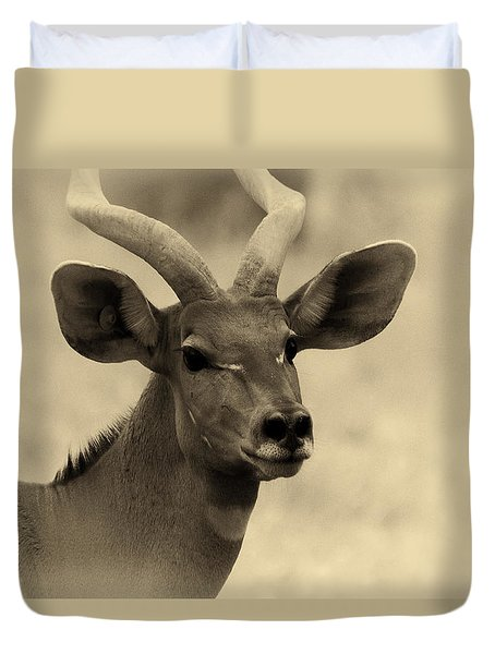 Beautiful Nyala Duvet Cover