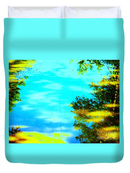 Beautiful Summer Day Duvet Cover by Pauli Hyvonen
