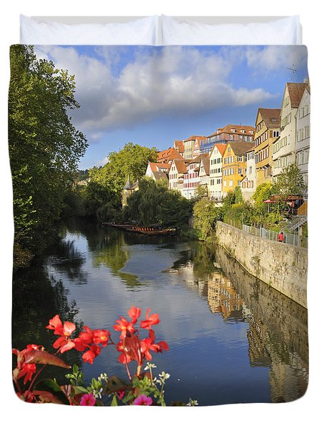 Beautiful Tuebingen In Germany Duvet Cover