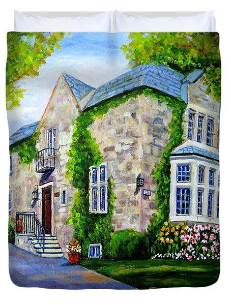 Beautiful Westmount Home Duvet Cover by Carole Spandau
