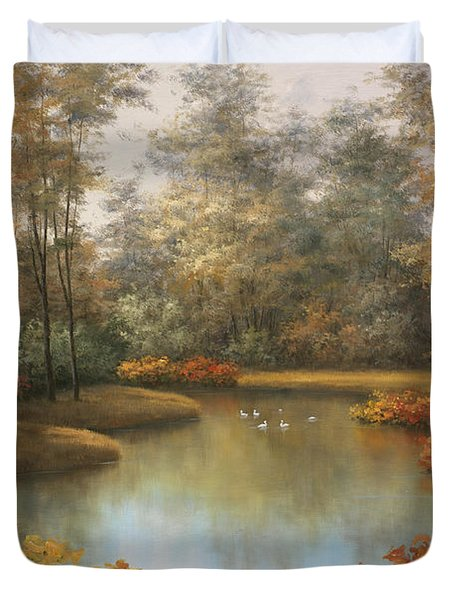 Beauty Of Autumn Duvet Cover