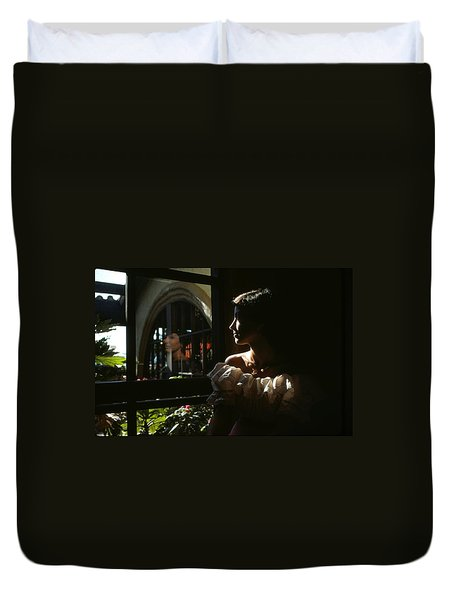 Beauty Reflected 2 Duvet Cover by Roy Williams