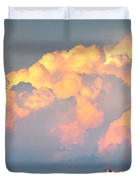 Beefy Thunder Duvet Cover