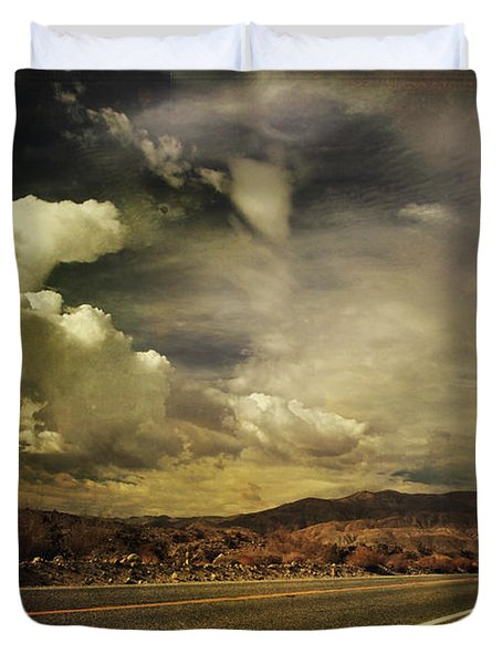 Been Down This Road Before Duvet Cover by Laurie Search