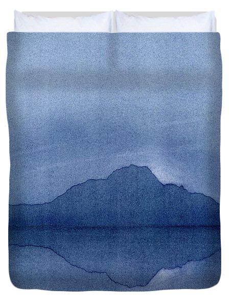 Before The Moonrise Duvet Cover by Hakon Soreide