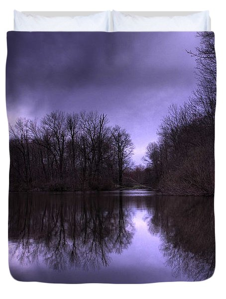 Before The Storm Duvet Cover by Paul Ward