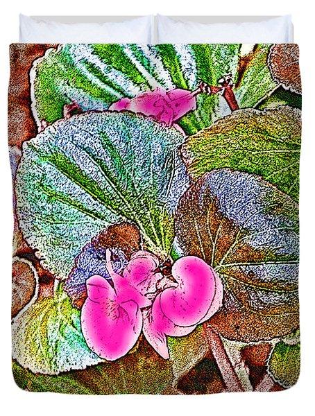 Begonia Duvet Cover by EricaMaxine  Price