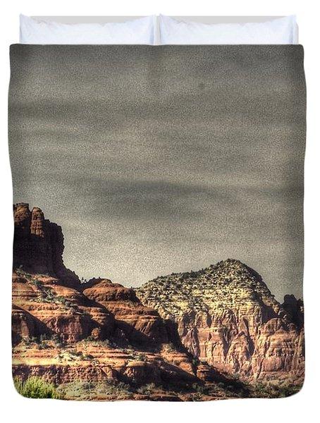 Bell Rock - Sedona Duvet Cover by Dan Stone