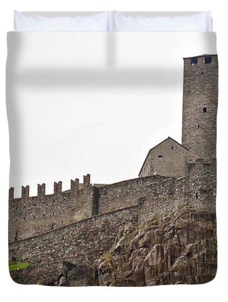 Bellinzona - Ticino Duvet Cover by Joana Kruse