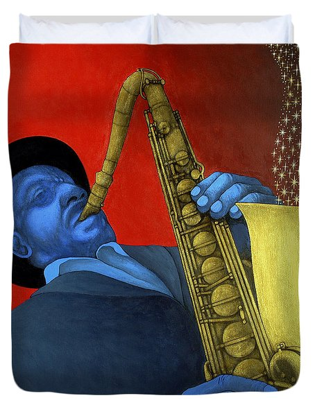 Ben Webster Duvet Cover