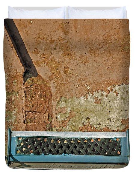 Bench Duvet Cover by Joana Kruse