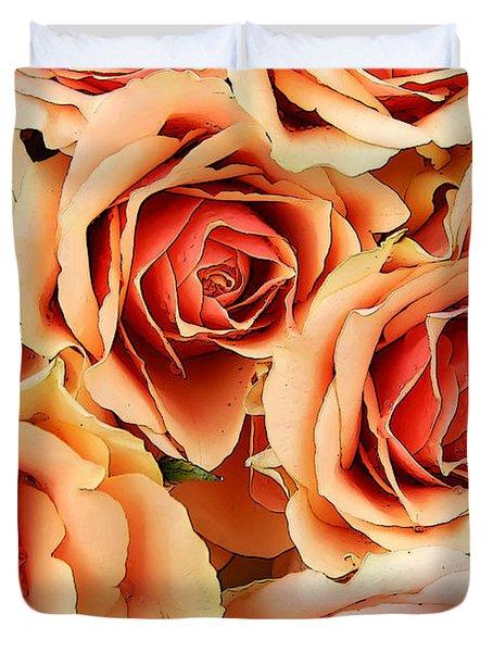 Bergen Roses Duvet Cover