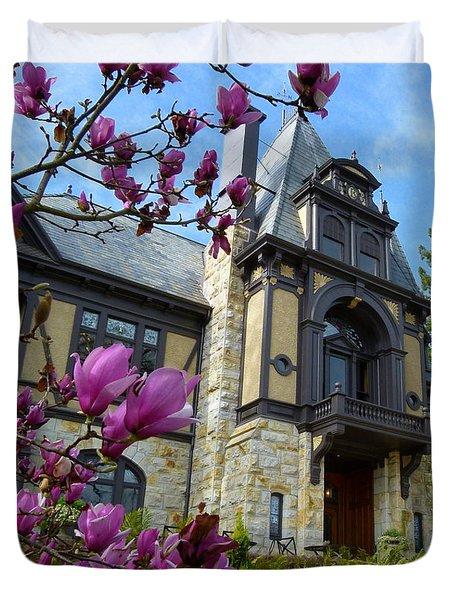 Beringer Family Mansion Duvet Cover