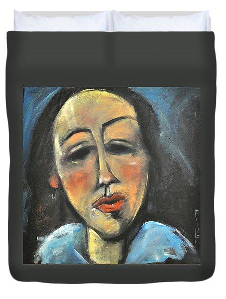 Berthe Lipchitz Revisited Duvet Cover by Tim Nyberg