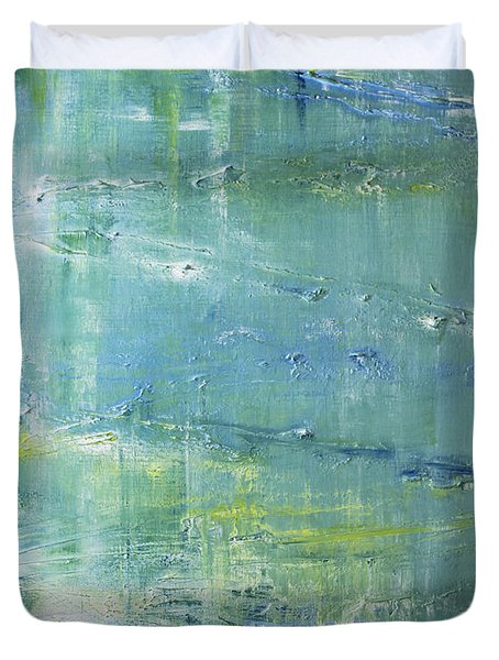 Beyond The Pond Duvet Cover