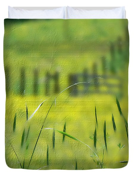 Beyond The Weeds Duvet Cover by EricaMaxine  Price