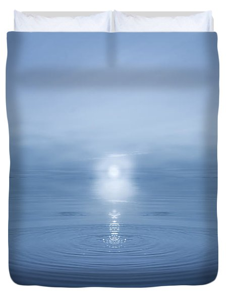 Big Blue Duvet Cover
