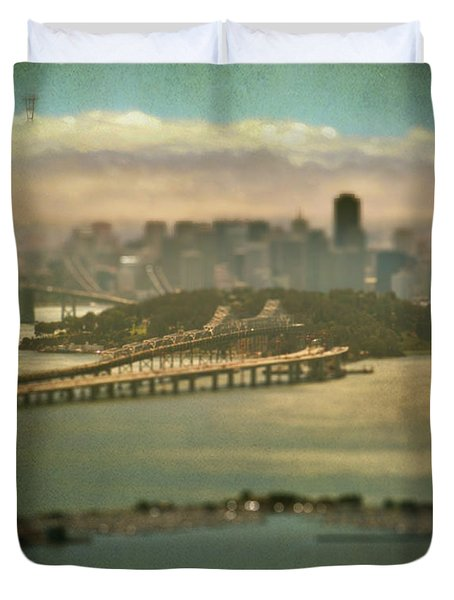 Big City Dreams Duvet Cover by Laurie Search