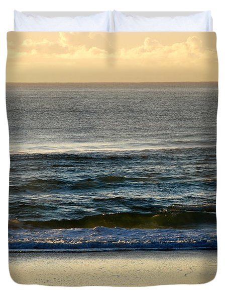 Duvet Cover featuring the photograph Big Ocean  by Eric Tressler