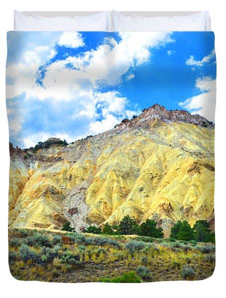 Big Rock Candy Mountain - Utah Duvet Cover