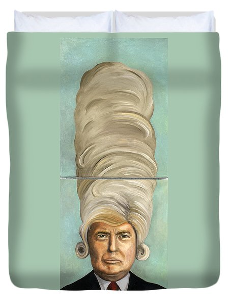 Big Wig Duvet Cover by Leah Saulnier The Painting Maniac