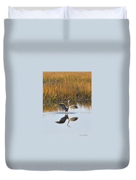 Bird Dance Duvet Cover