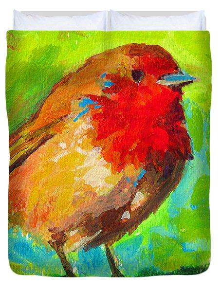Birdie Bird - Robin Duvet Cover