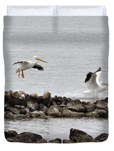 Birds Of A Feather... Duvet Cover