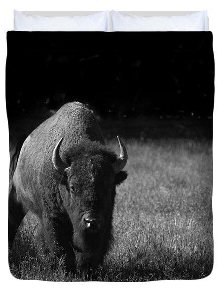 Bison Duvet Cover by Ralf Kaiser