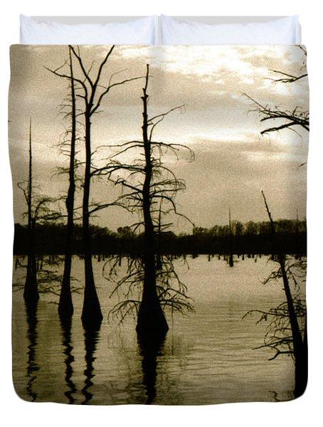 Black Bayou 8 Duvet Cover