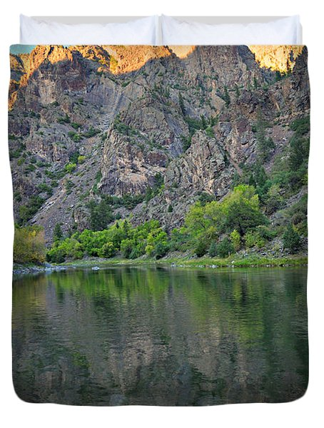 Black Canyon 4 Duvet Cover by Marty Koch