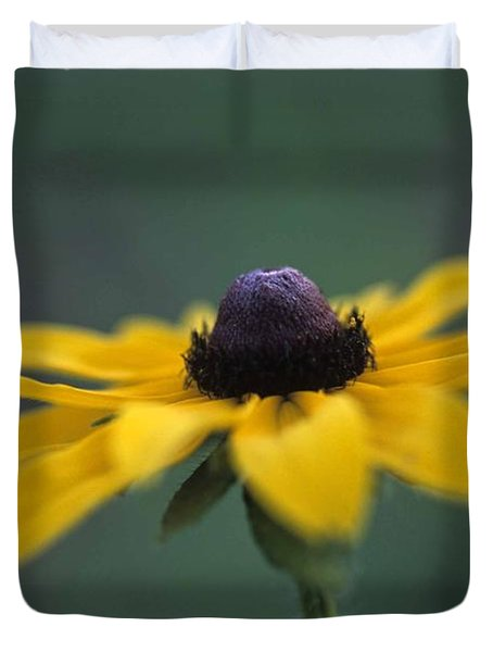 Duvet Cover featuring the photograph Black Eye Susan by Alana Ranney