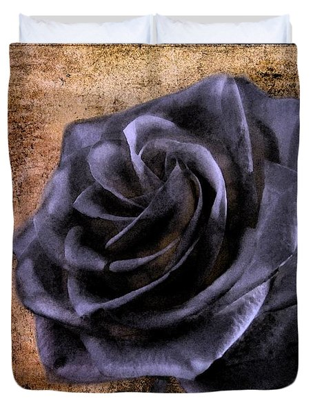 Black Rose Eternal   Duvet Cover