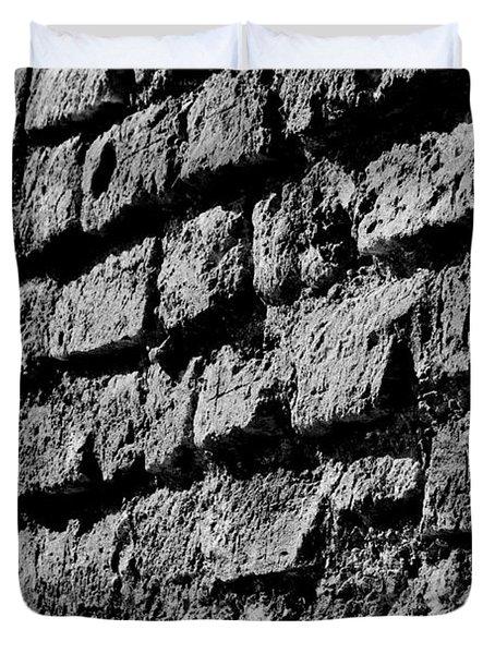 Black Wall Duvet Cover