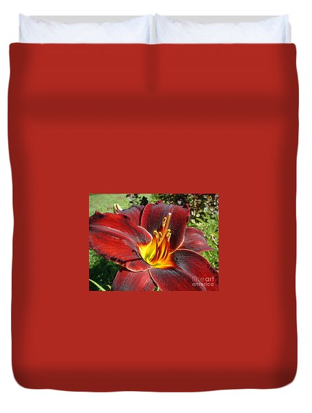 Bleeding Beauty Duvet Cover