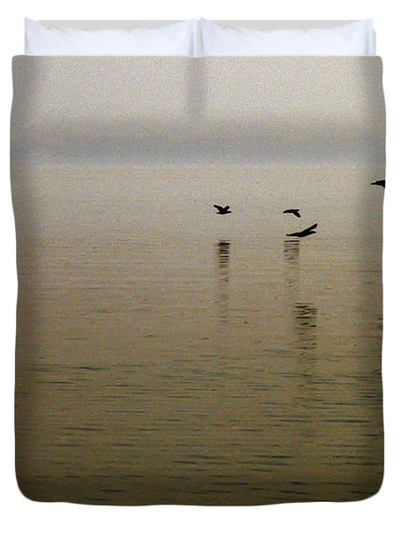Duvet Cover featuring the photograph Bliss by Clayton Bruster