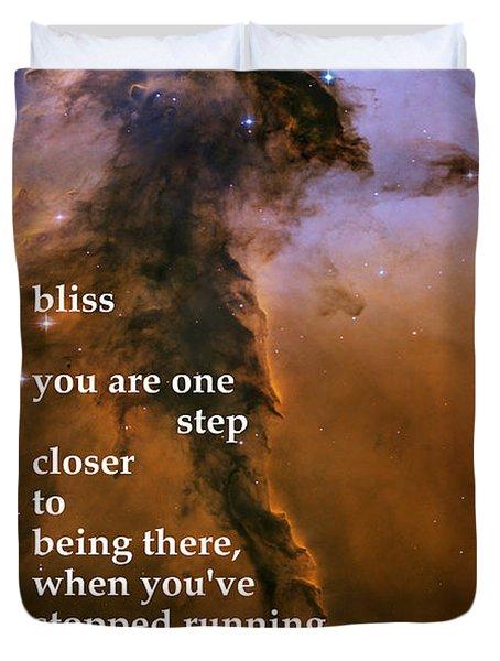 Bliss Duvet Cover by Richard Donin